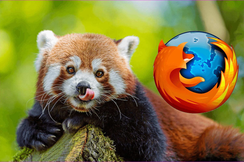 Какой зверь изображён на логотипе Firefox