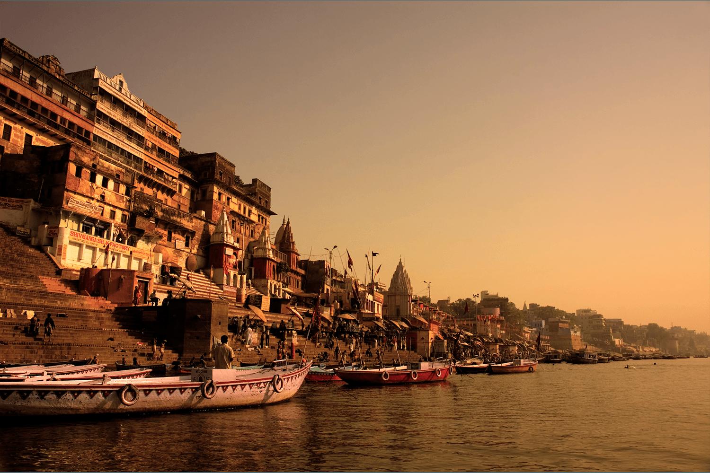 Священный город - Варанаси. Место паломничества индуис