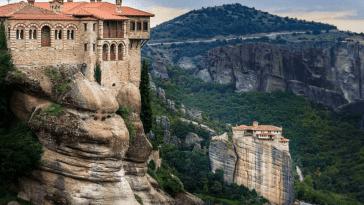 Парящие монастыри Метеоры
