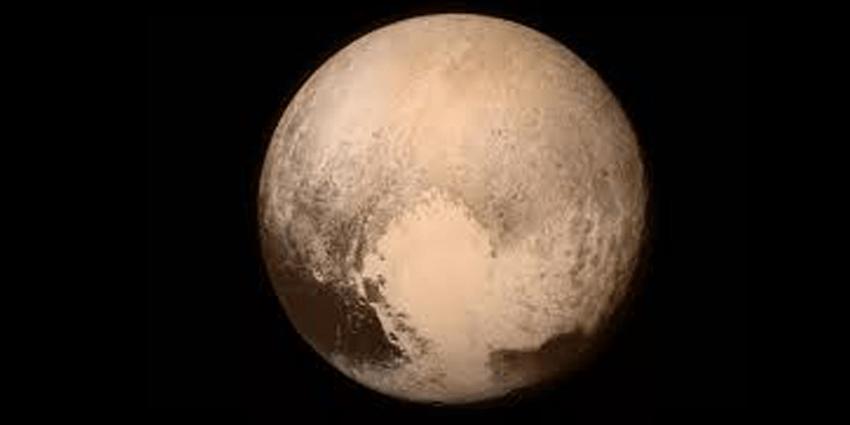 Одно из последних фото Плутона
