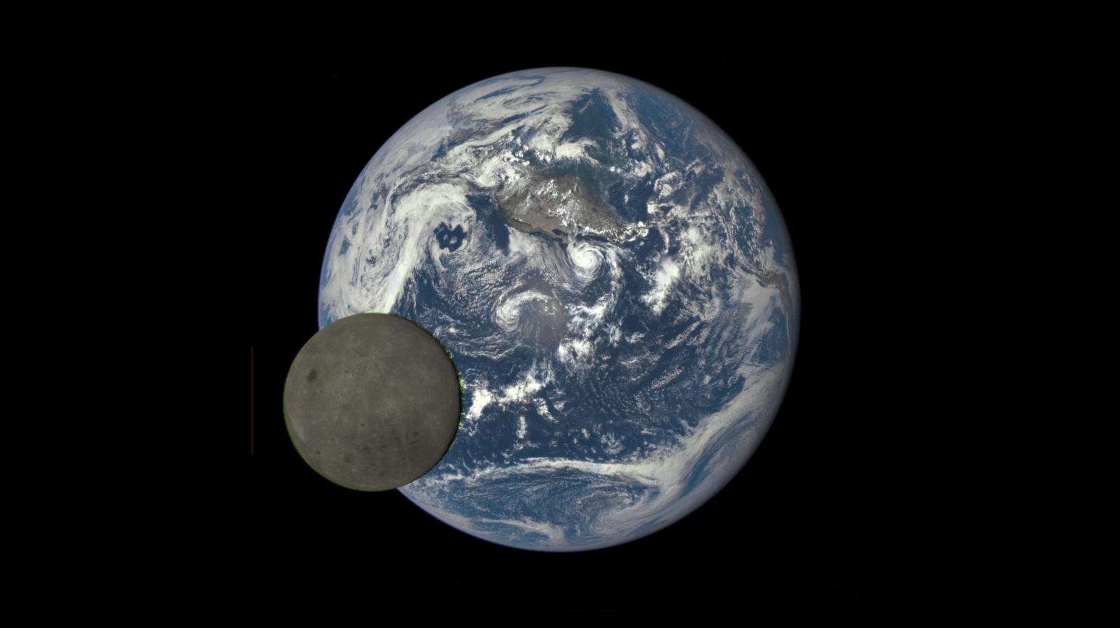 Луна - естественный спутник Земли. Фотографии и интересные факты
