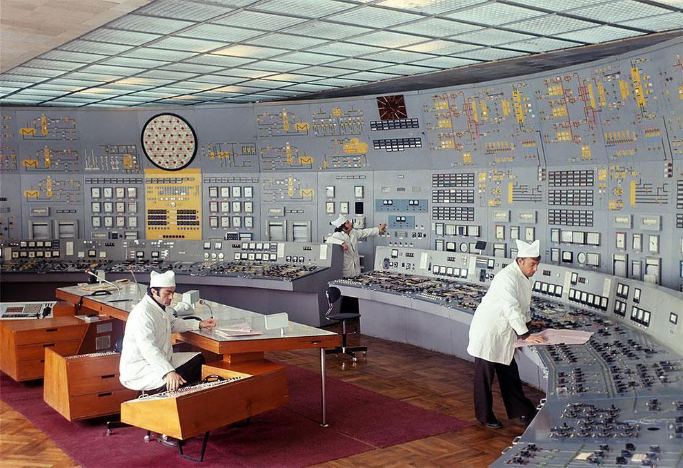 Винтажная красота советских диспетчерских