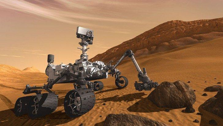 """Марс 2117"" Через сто лет город будет построен на Марсе?"