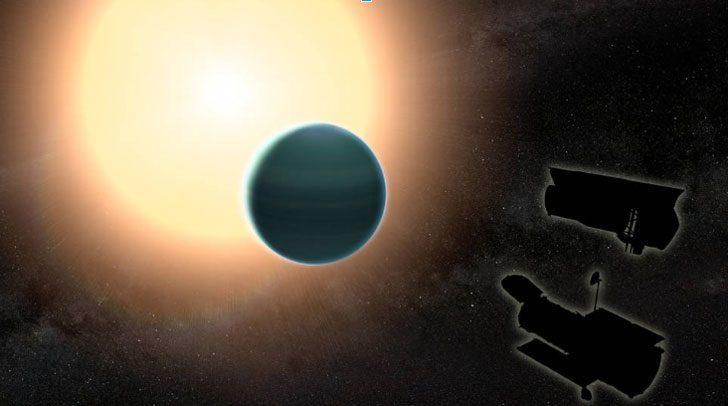 Ученые обнаружили планету, которая выглядит как Нептун