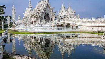 Ват Ронг Кхун: Белый храм в Таиланде