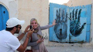 Эр-Рияд, Тунис: Мировая столица уличного искусства