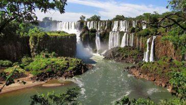 10 удивительных водопадов от которых захватывает дух
