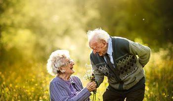 Суджата Сетия: волшебные фотографии пожилых пар
