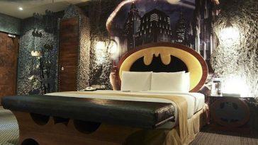 Мотель Эден и потрясающий номер в стиле Бэтмена