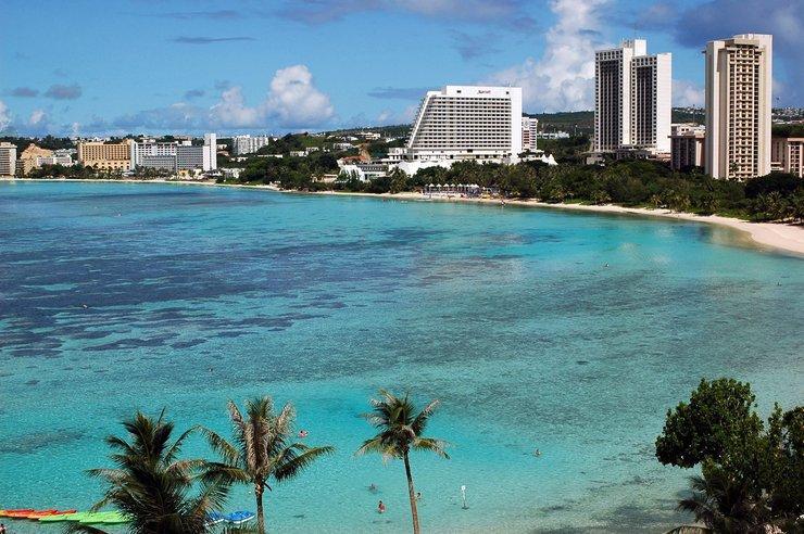 Остров Гуам. Где находится рай среди бетонных джунглей?