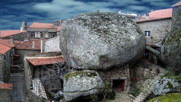 Мосанто, Португалия: каменная деревня