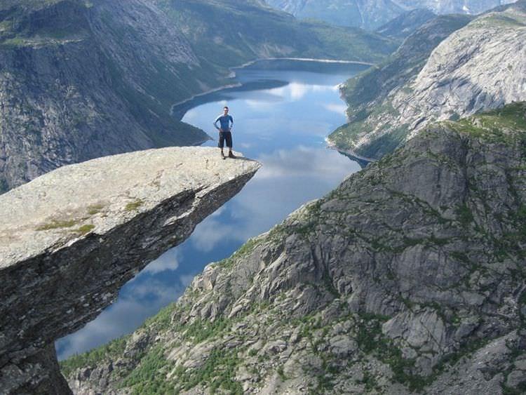 Троллтунга, Кьерагболтен, Прекестулен : горные достопримечательности Норвегии