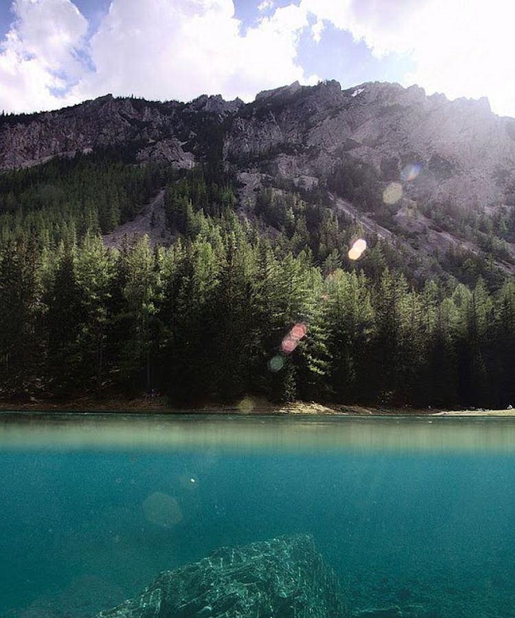 Озеро Грюнер-Зее. Исчезающий парк в Австрии