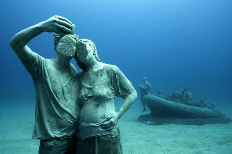 Атлантико  - уникальный музей под водой