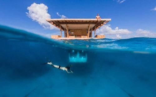 Подводный отель в Занзибаре