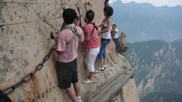 Гора Хуашань - самая сложная туристическая тропа в мире