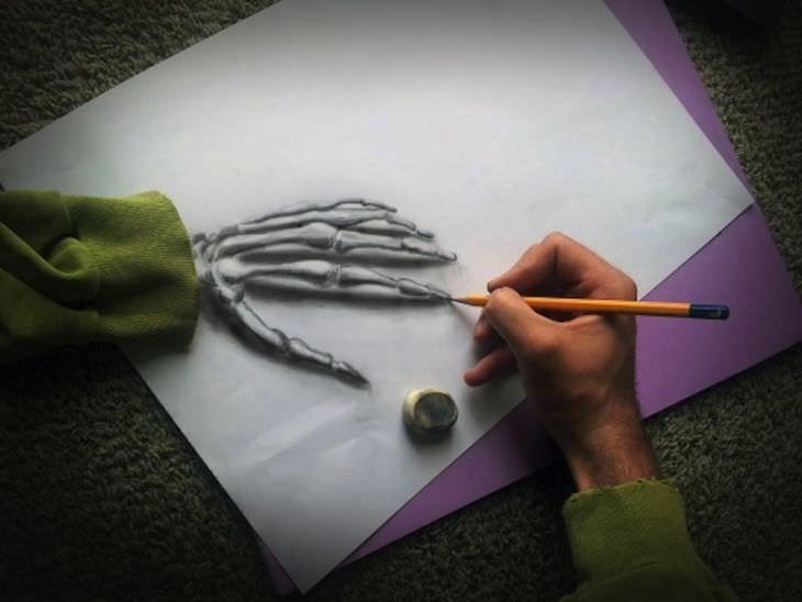 Рамон Брюин и его удивительные 3D рисунки