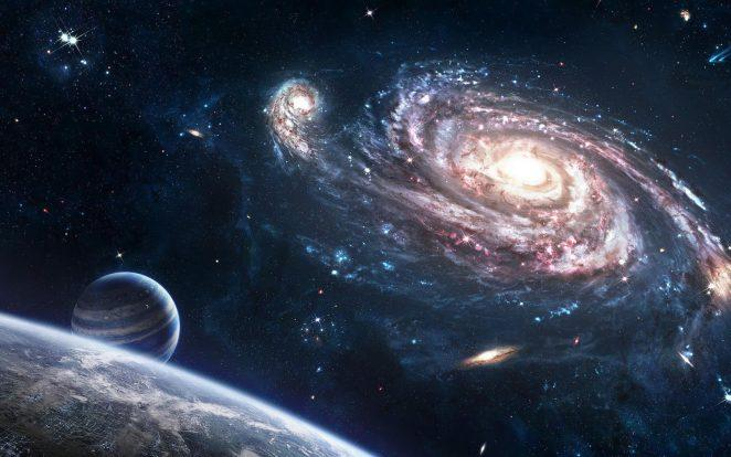 Космос, звезды, вселенная.