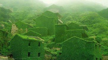 Китайская деревня Хутоу Ван восстановлена природой