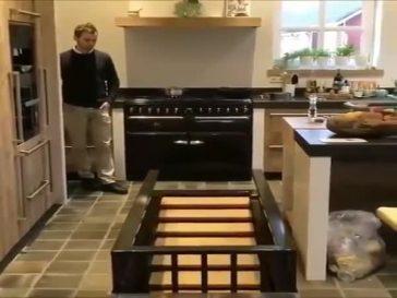Кухня с секретом