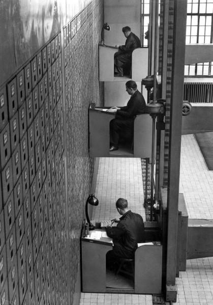 Удивительный архив департамента социального обеспечения в Чехословакии