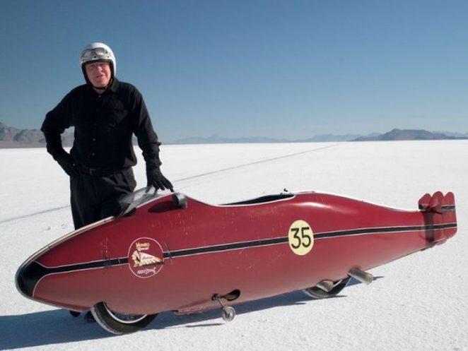 Бонневиль: соляное озеро скорости.