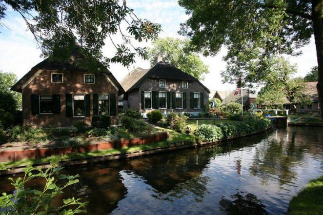 Гитхорн: «Голландская Венеция», голландская деревня на воде