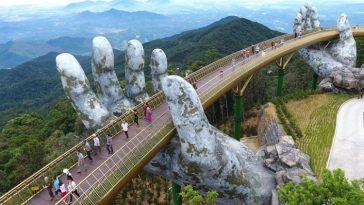 Кау Ванг - «Золотой мост» во Вьетнаме