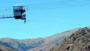 Невис Свинг, Новая Зеландия - самые большие качели в мире