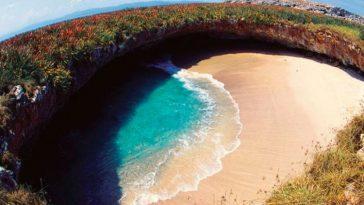 Плайя-дель-Амор - Cкрытый пляж на островах Мариета в Мексике