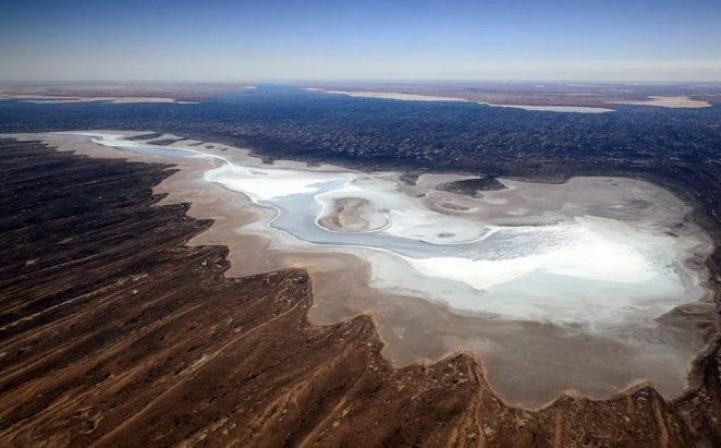 Озеро Эйр. Красота исчезающего озера Эйр очарует вас своими красками.