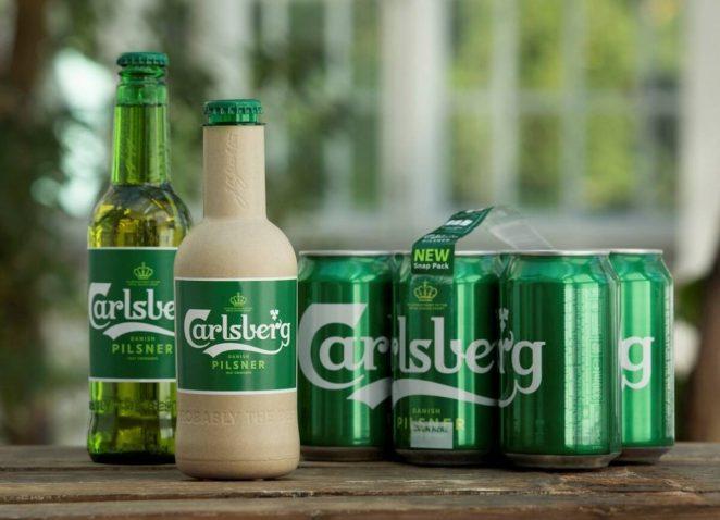 Carlsberg и Coca-Cola представляют «растительный пластик», который полностью разлагается в течение года