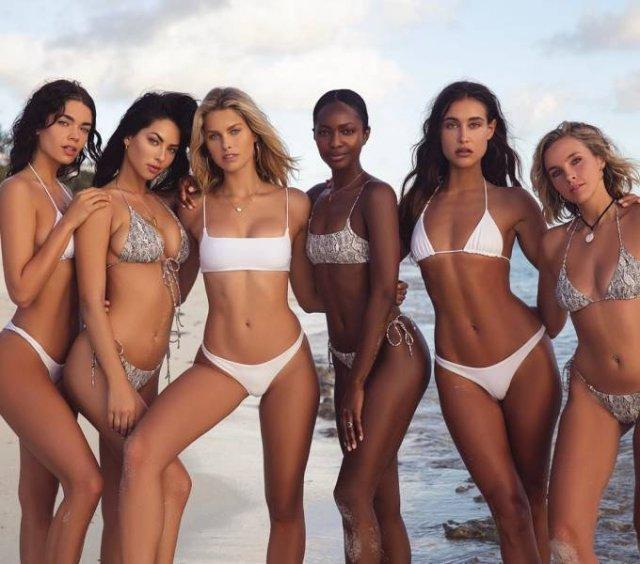 Групповые фотографии девушек (51 фото) Чем больше красавиц, тем лучше