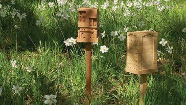 ИКЕА призывает всех построить свой пчелиный дом Bee Home, чтобы помочь выжить насекомым