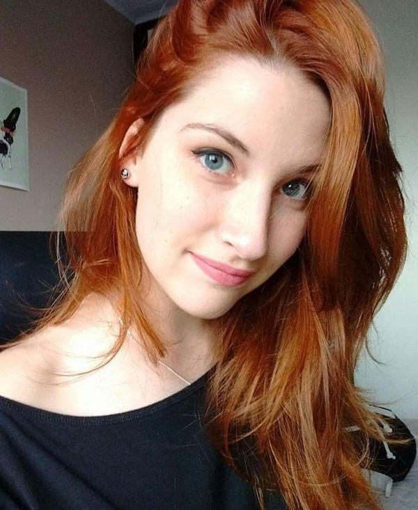 Самые красивые рыжие девушки (56 фото)