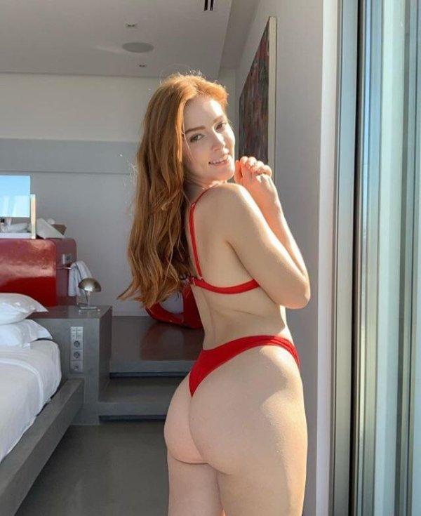 Красивые рыжие девушки. Рыжеволосые красавицы (58 фото)