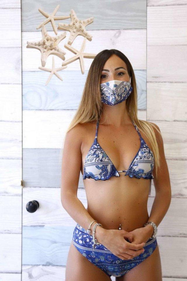 Трикини - новый пляжный тренд во время пандемии коронавируса (19 фото)