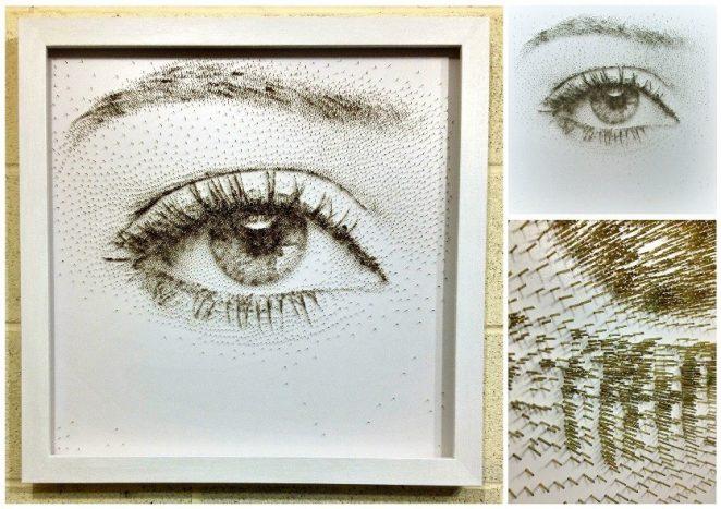 Картины из гвоздей Дэвида Фостера. Невероятные произведения искусства