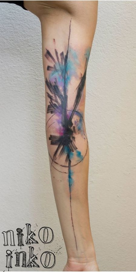 28 невероятных акварельных татуировок из этого мира