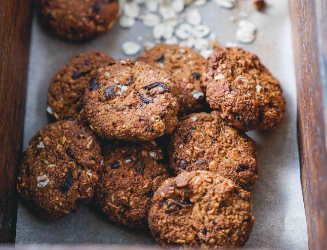 Вкусное овсяное печенье с финиками без сахара - пошаговый рецепт