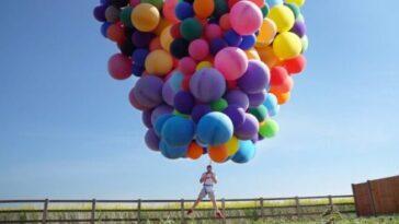 Дэвид Блейн совершил полёт на воздушных шарах на высоту 7 километров