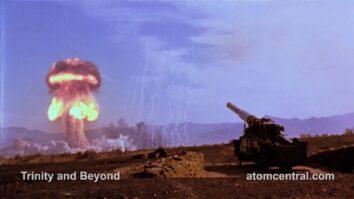 Кадры взрыва атомной бомбы в 4К со скоростью 48 кадров в секунду