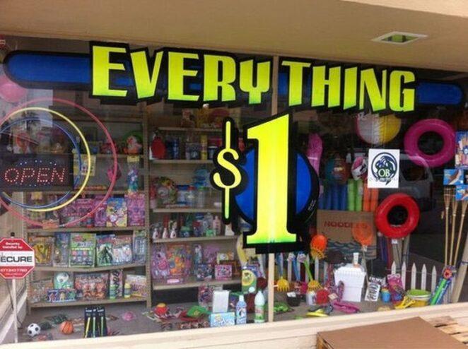 Магазин «Всё по одной цене»: Как заработать миллионы из 5 центов