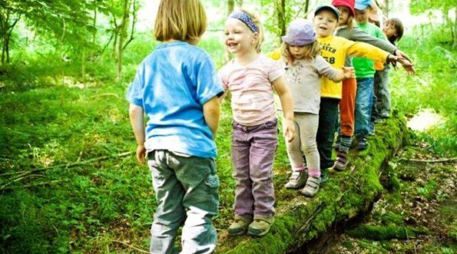 Нахождение на природе повышает интеллект ребенка