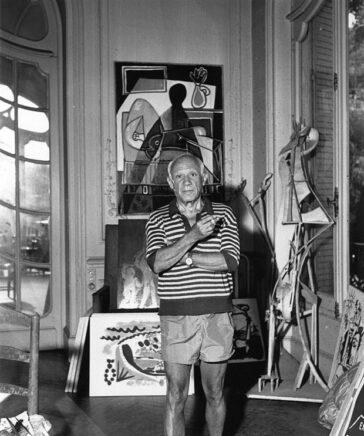 Пабло Пикассо использовал «смелые» ингредиенты для создания своих работ