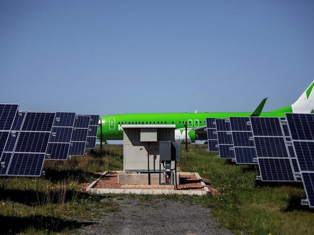 Аэропорт в Африке, который работает только благодаря солнцу