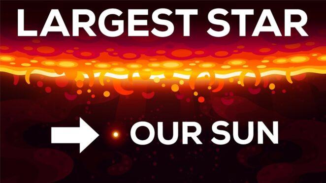 Сногсшибательная визуализация размеров звезд во вселенной