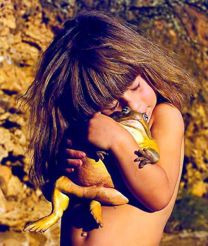 Типпи Дегре - невероятная история Маугли из Намибии