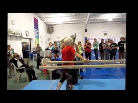 Возраст - это состояние души, 89-летняя гимнастка