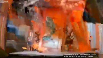 Женщина нажала на газ вместо тормоза